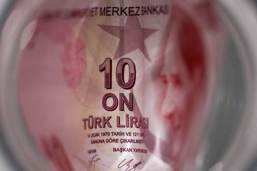 Nota de 10 liras turcas