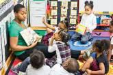 Aula na Harlem Children Zone Promise Academy, em Nova York