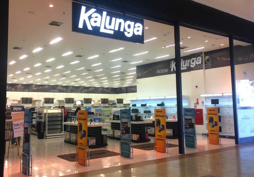 Fachada de loja Kalunga