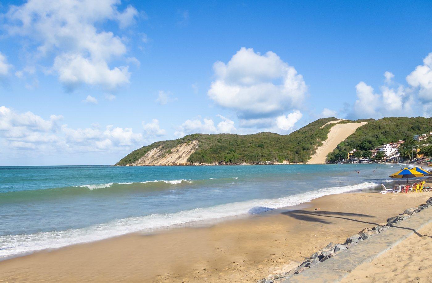 Praia de Ponta Negra, em Natal (RN)