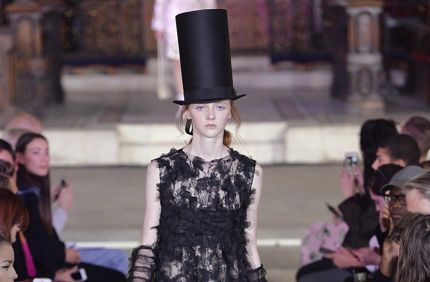 Ryan Lo na London Fashion Week