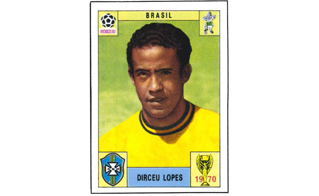Figurinhas Copa do Mundo 1970