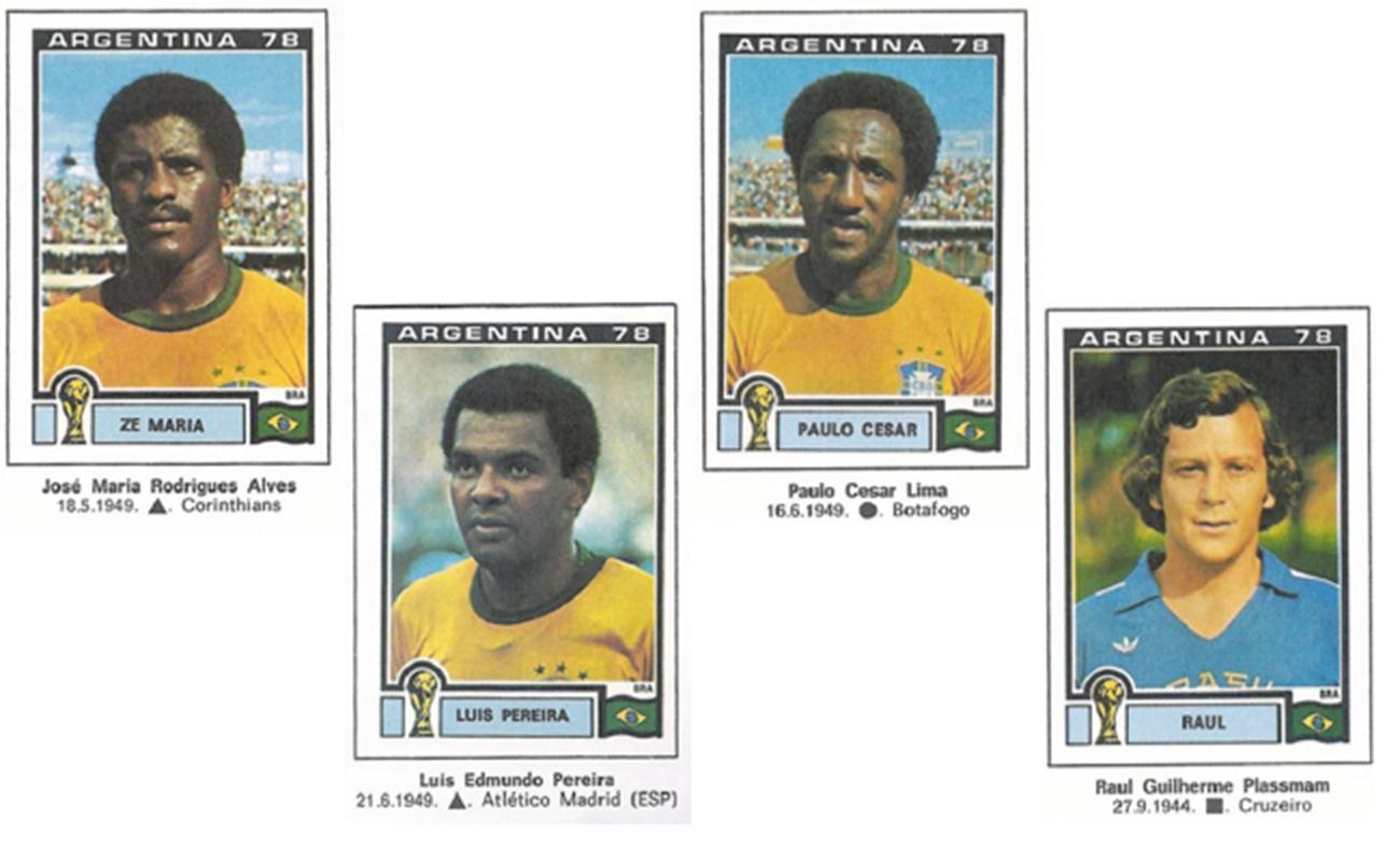 Figurinhas Copa do Mundo 1978
