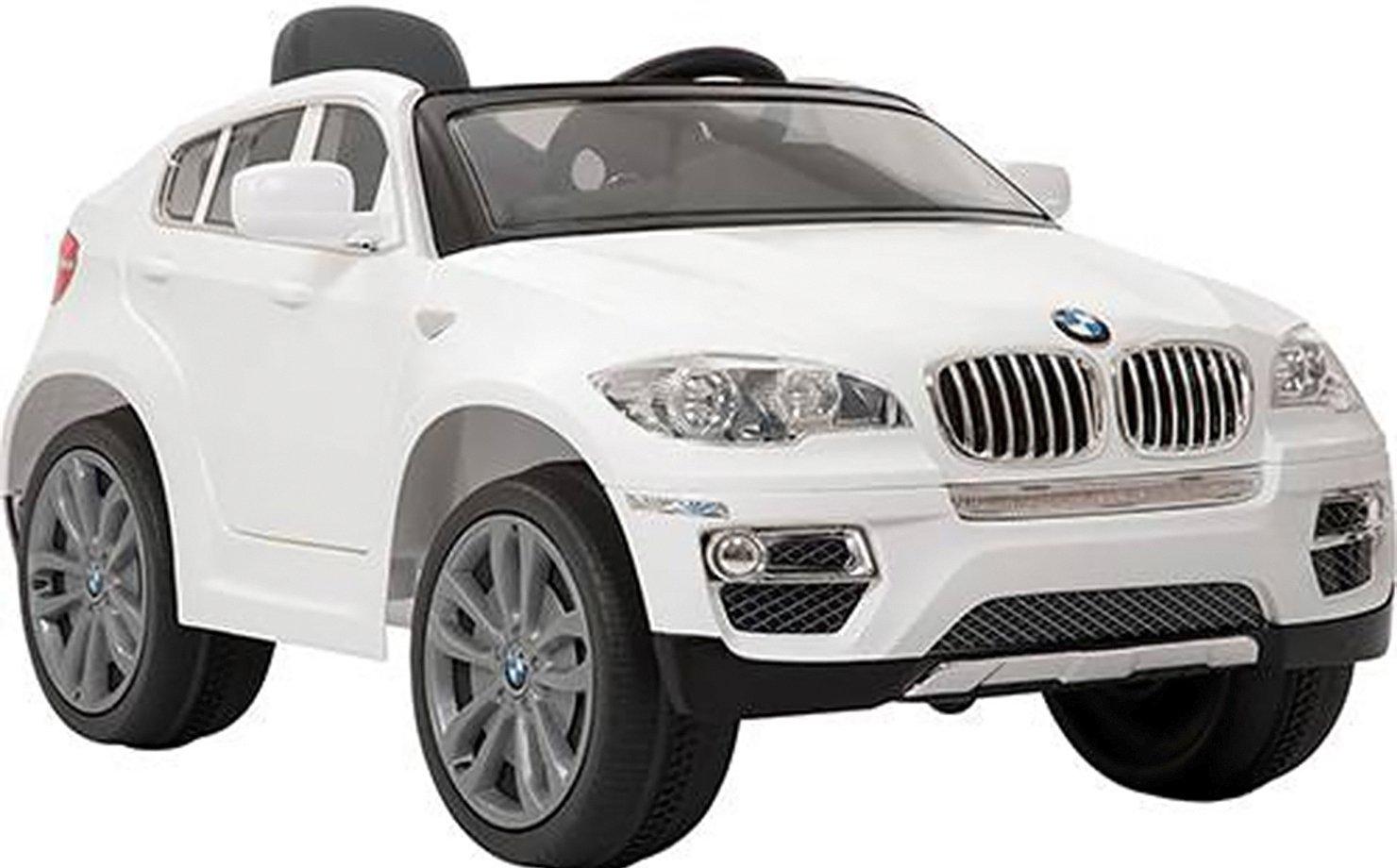 Carro Elétrico BMW X6 Branca RC 6V da Bandeirante, vendida por R$ 2.499 no site da Americanas
