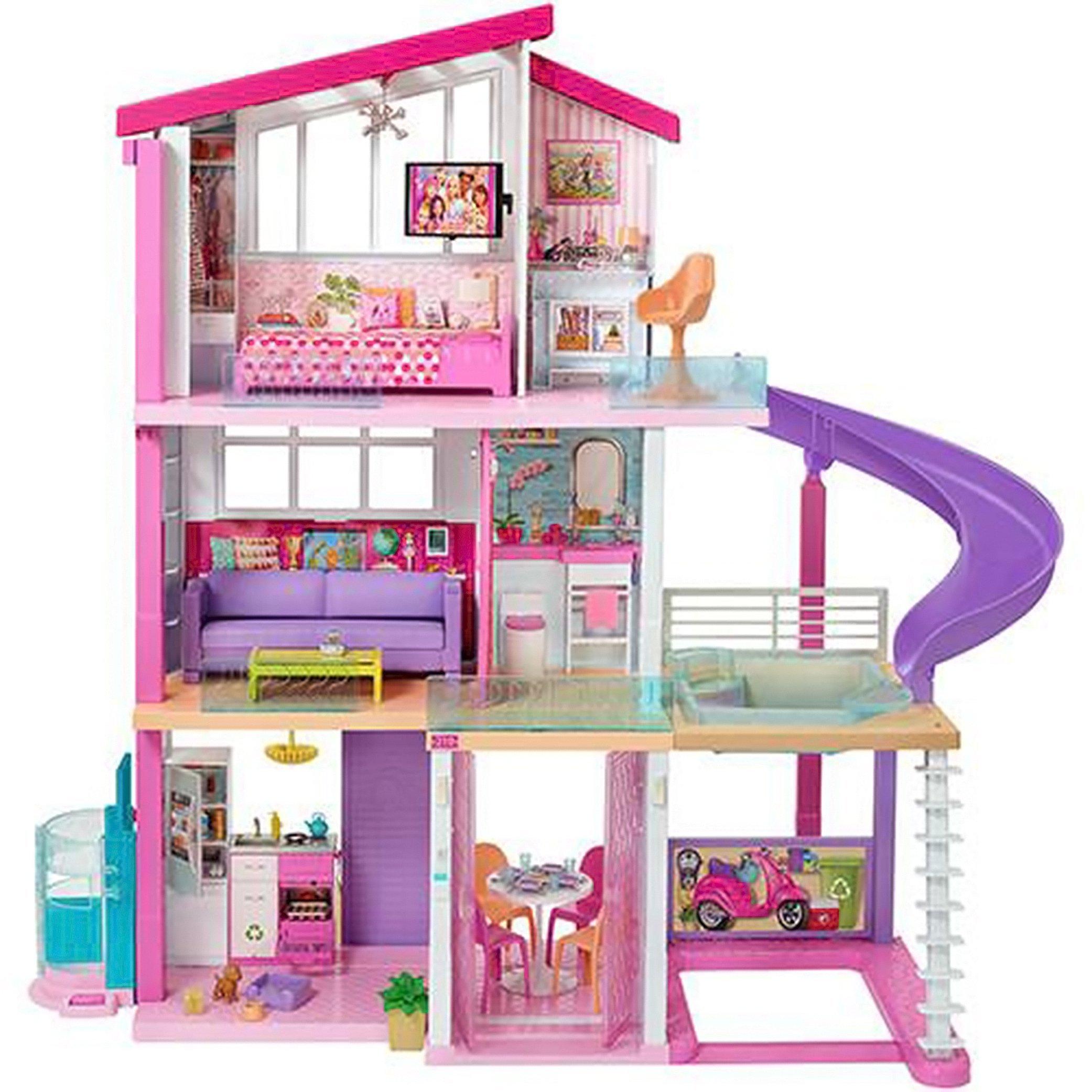 Casa dos Sonhos da Barbie da Mattel, vendida por R$ 1.299,99 pelo site da Americanas