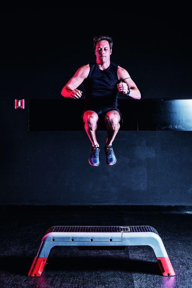 O step com suas mil e uma funções, é essencial para o treino. Foto: Marcus Steinmeyer
