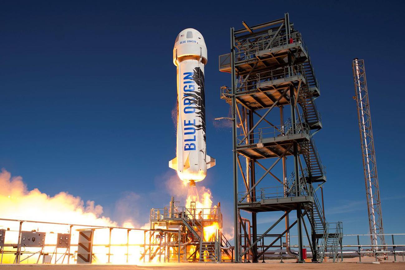 Última chamada: Blue Origin encerra leilão de passagens para o espaço