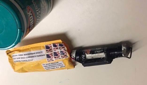 Pacotes explosivos enviados para figuras públicas dos Estados Unidos