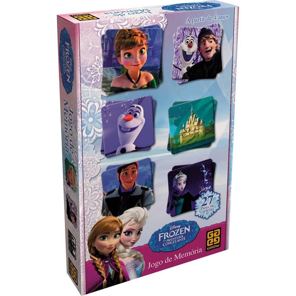 Jogo da Memória da Frozen, vendido por R$ 39,99 nas Lojas Americanas