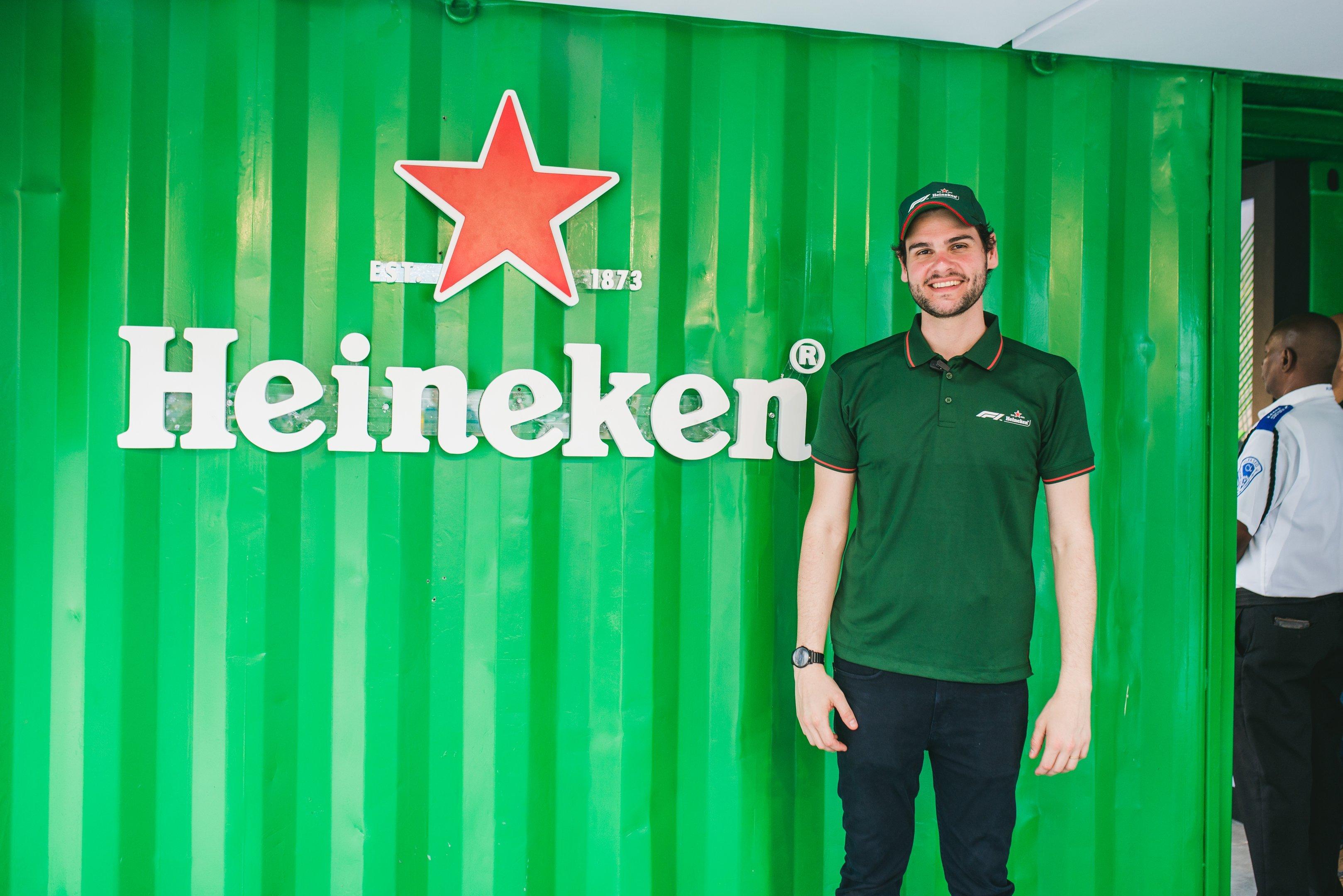Guilherme Retz, gerente de marketing da Heineken Brasil, durante evento no Rio