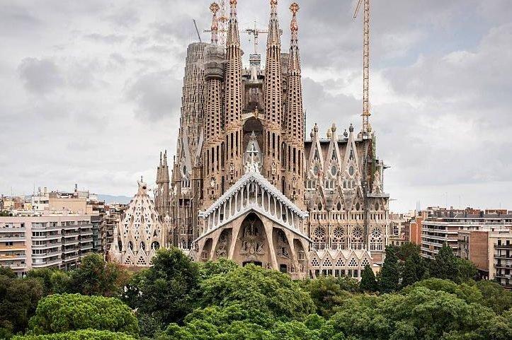 Basílica da Sagrada Família em Barcelona