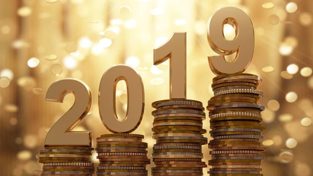 Dinheiro em 2019