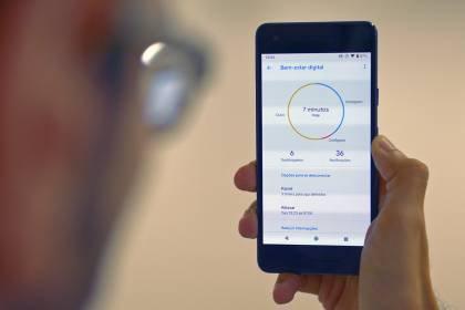 Android 9.0 Pie Bem-Estar Digital