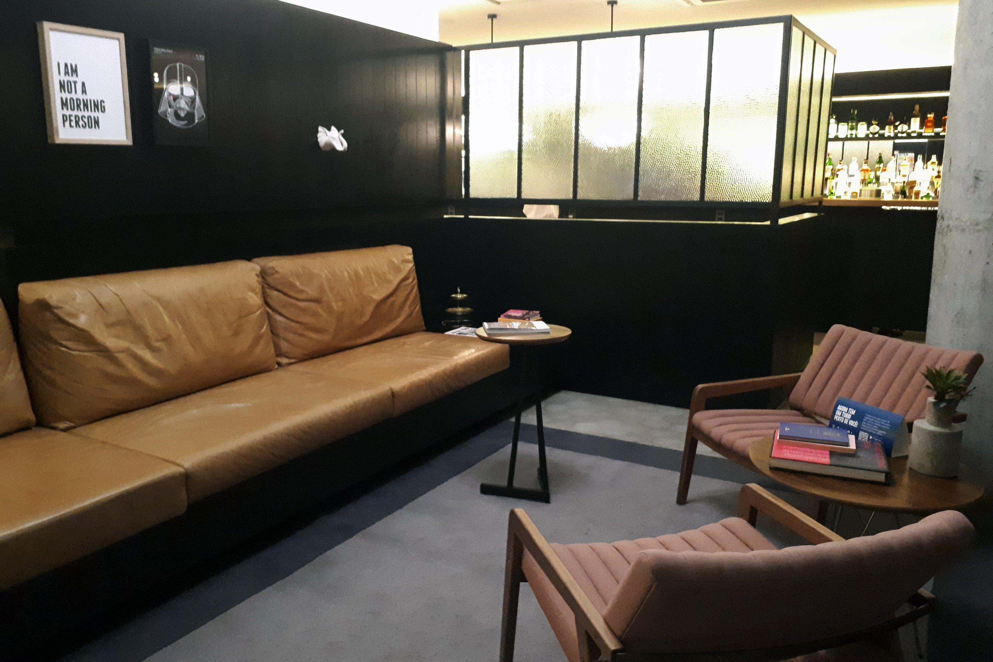 Área comum para trabalho e descanso em empreendimento da construtora Vitacon