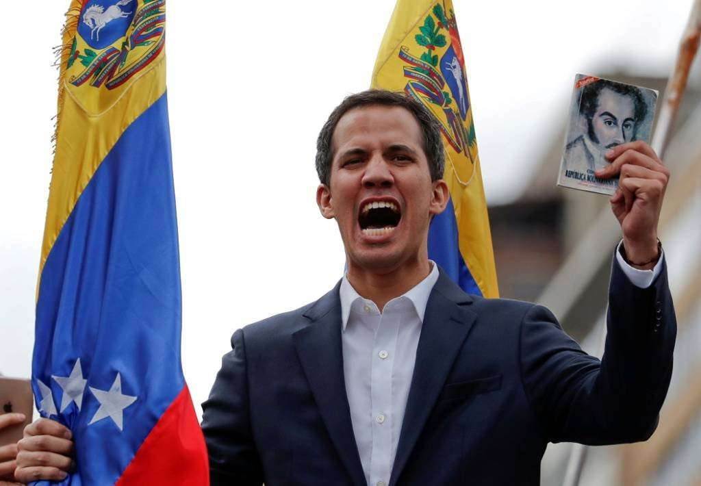 Opposition supporters hold rallies against Venezuelan President Nicolas Maduro's government