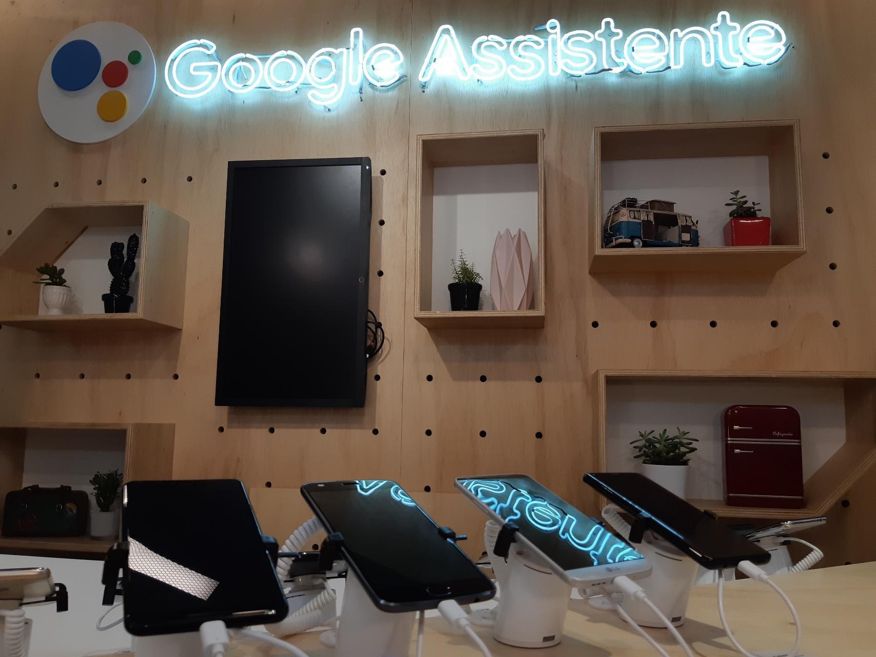 O Google Assistente Lab, no prédio Google Campus (São Paulo)