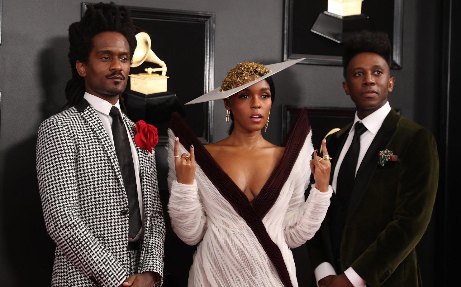 Janelle Monae na 61º edição do Grammy