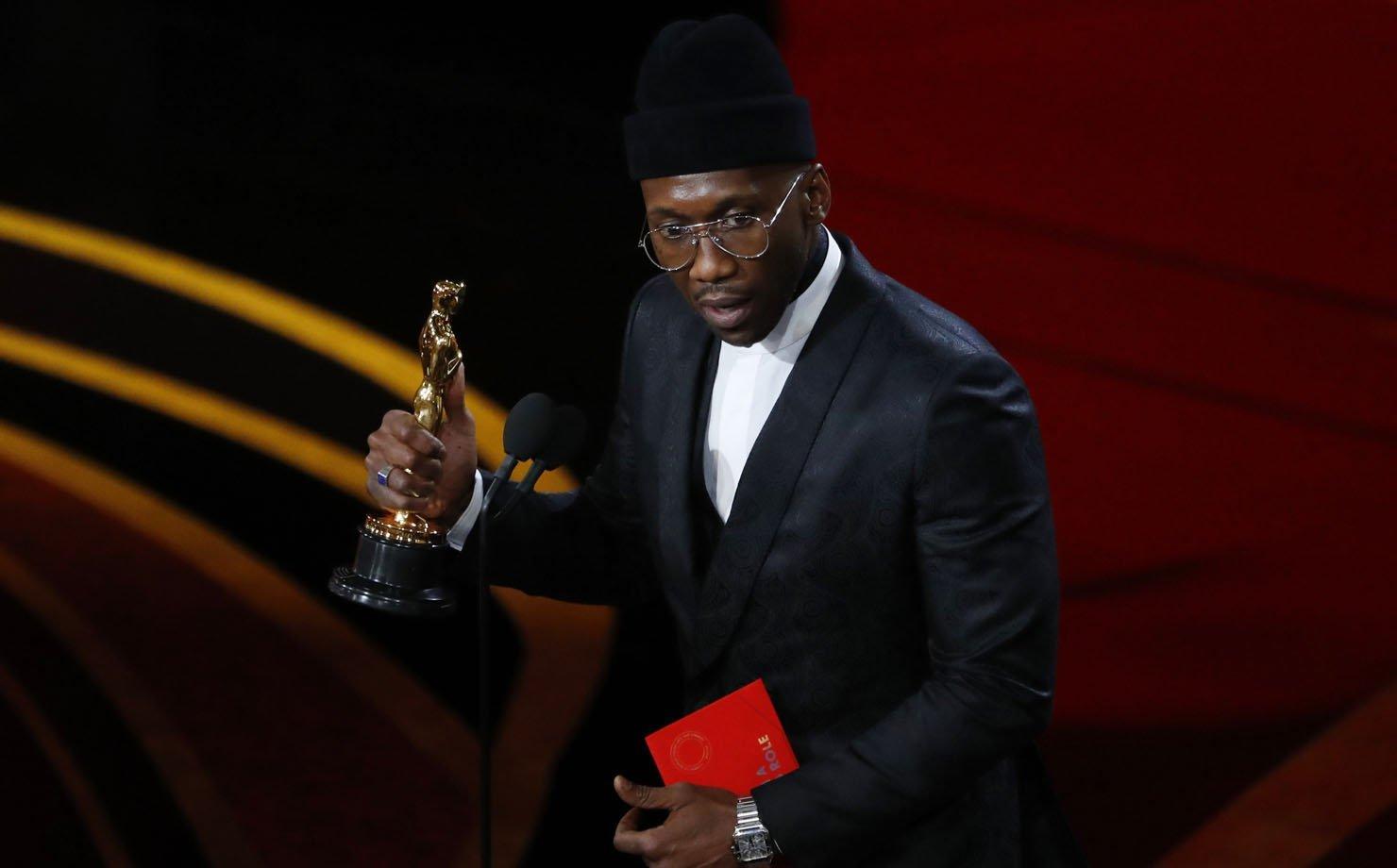 """Mahersala Ali ganha o prêmio de """"Melhor ator coadjuvante"""" na 91º edição do Oscar"""