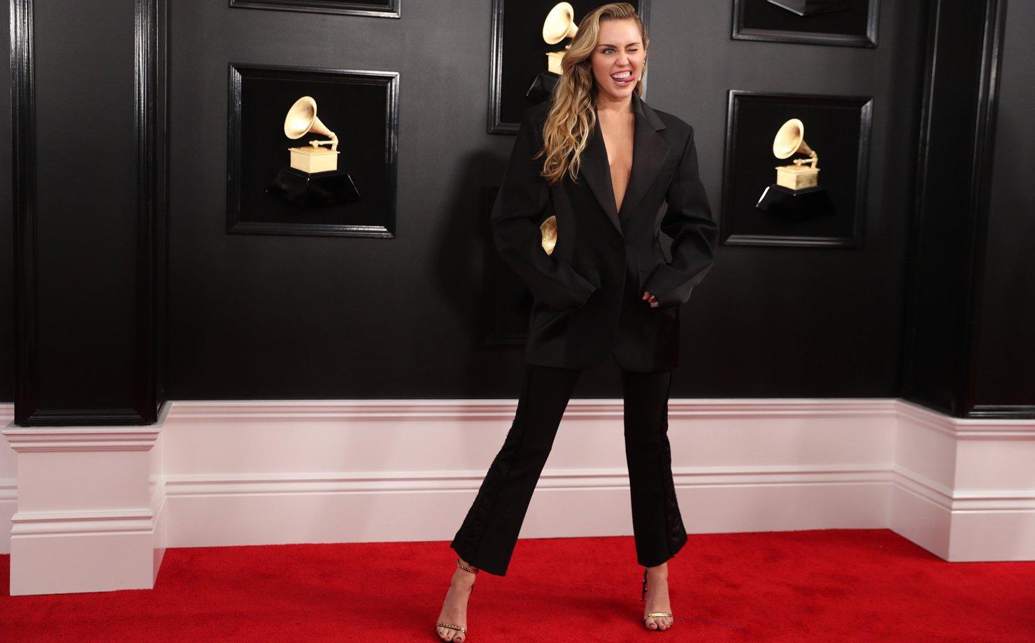 Miley Cyrus na 61º edição do Grammy