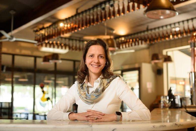 Patrícia Capel, CEO Andina da Ambev