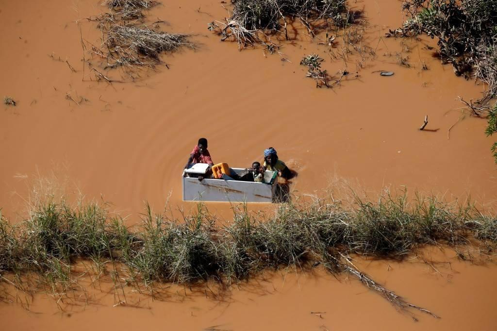 Ciclone Idai atinge Mozambique