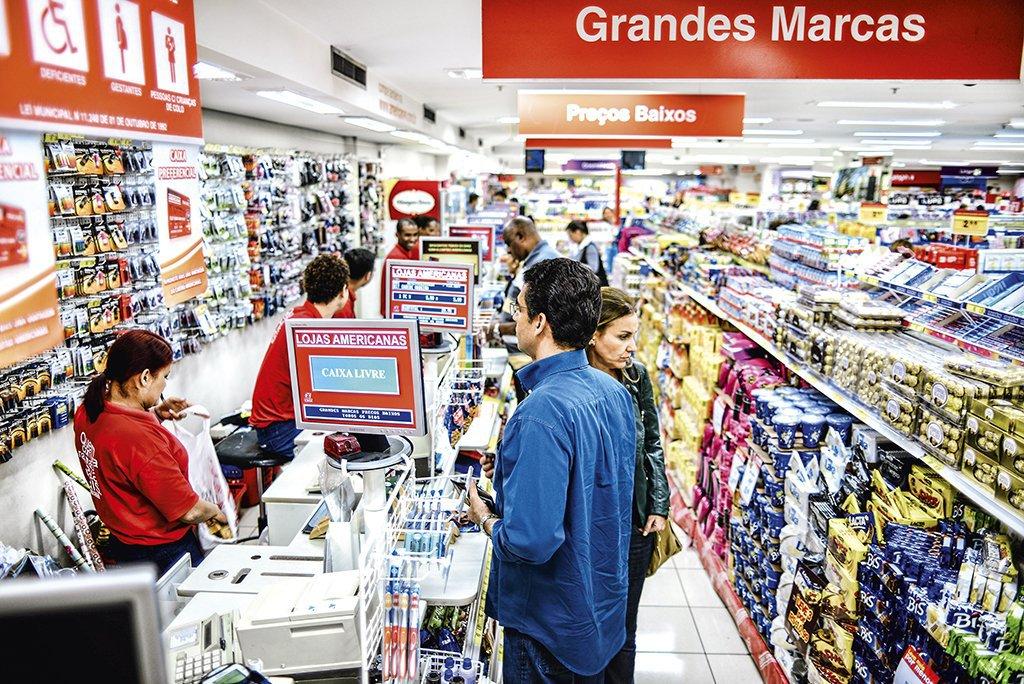 Lojas Americanas tem lucro de R$ 50 mi no 3º trimestre, alta de 3,5%