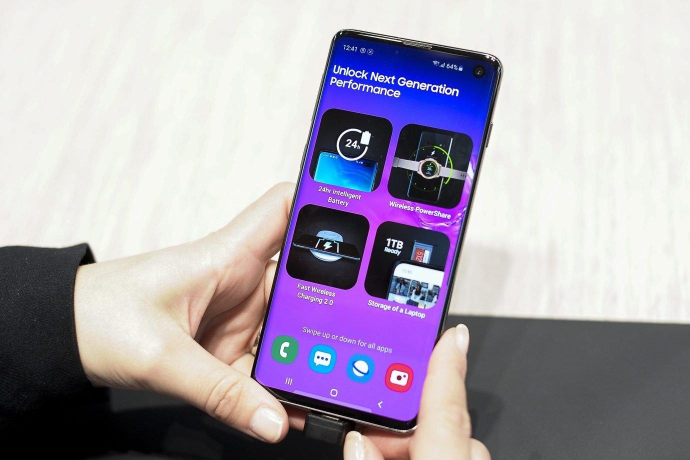 Samsung Galaxy S10 Mobile World Congress 2019 in Barcelona