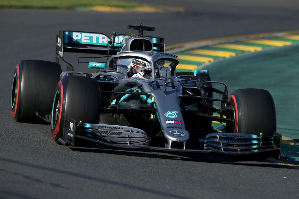 Lewis Hamilton no GP da Austrália, treino desta sexta-feira (15/03/2019)
