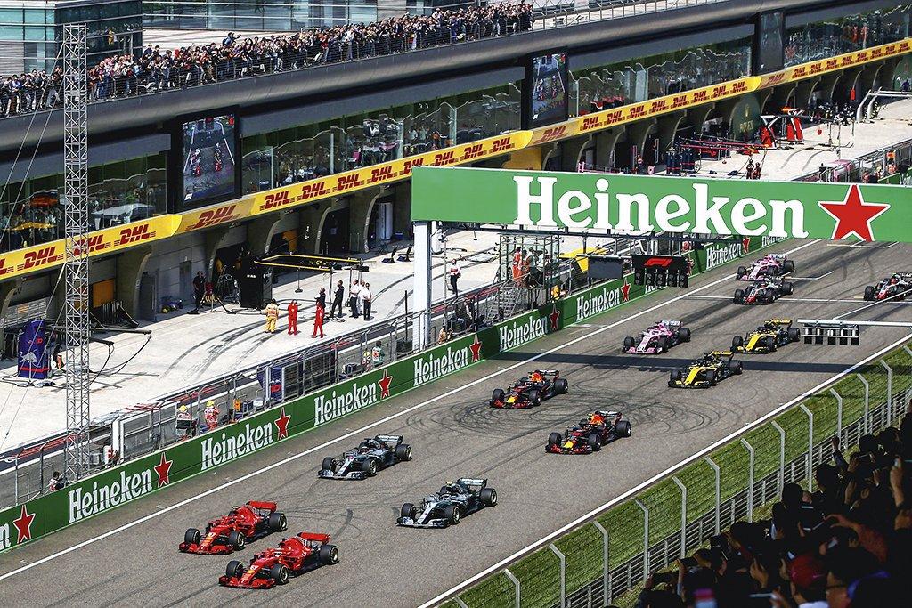 F1 Grand Prix of China 2018