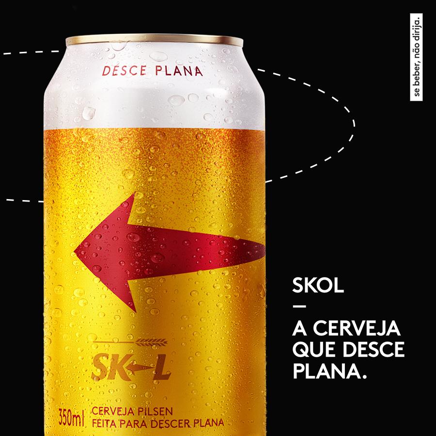 Skol: marca faz campanha com humor no Dia da Mentira