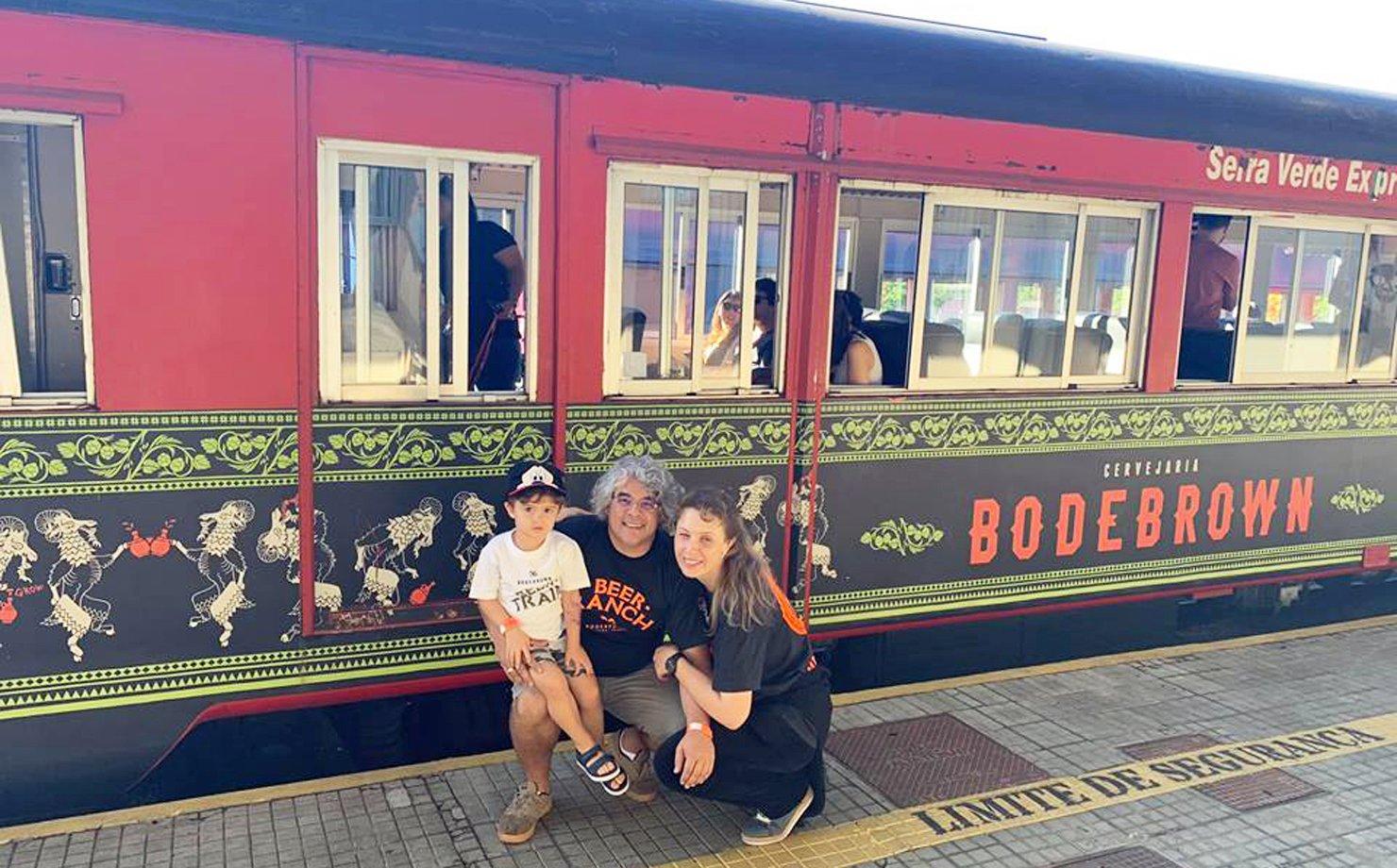 Beertrain da Bodebrown, em Curitiba