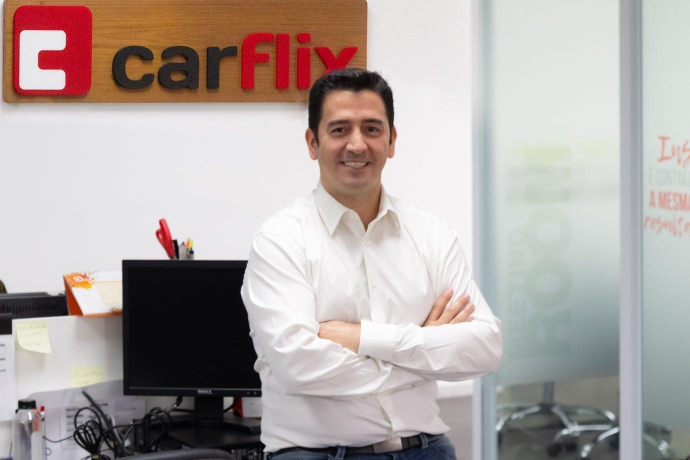 Fabio Pinto, CEO da Carflix