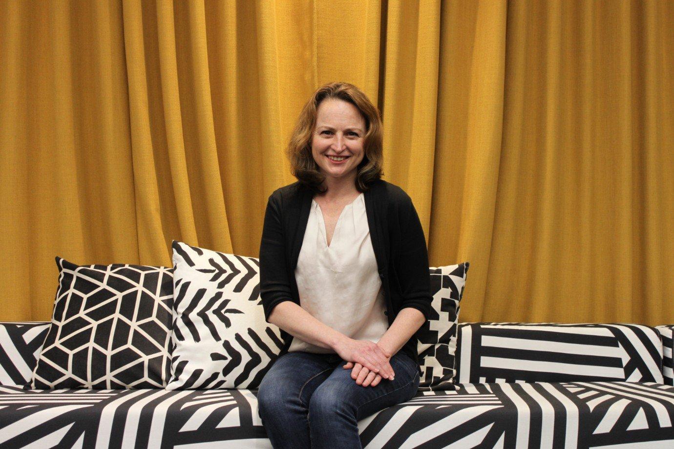 Kim Spalding, diretora global em gerenciamento de produtos para pequenas e médias empresas