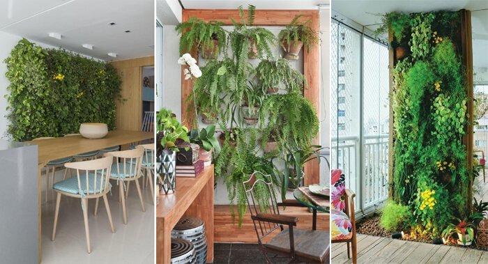Projeto da In House, Tetriz Arquitetura e Interiores e Revista Viva Decora utilizam jardins verticais