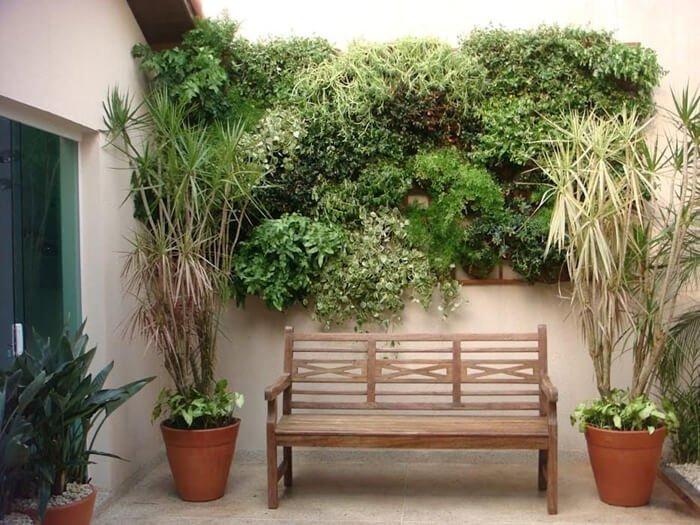 Projeto de decoração da Revista Viva Decora utiliza jardim vertical