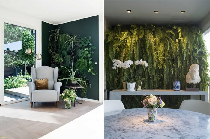 Projeto da Revista Viva Decora e de Rodrigo Maia usam jardins verticais