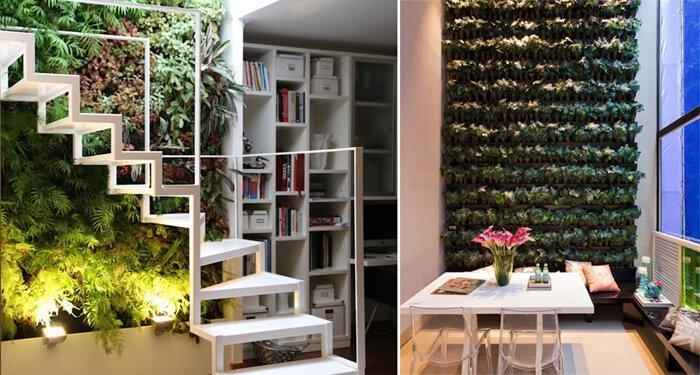 Projetos da Revista Viva Decora e Basiches Arquitetos Associados utilizam jardins verticais