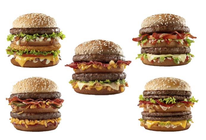 Novos Big: cinco lançamentos do McDonald's no Brasil