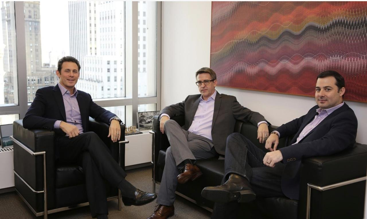 Scott Sobel, Antoine Colaço and Michael Nicklas, do Valor Capital Group
