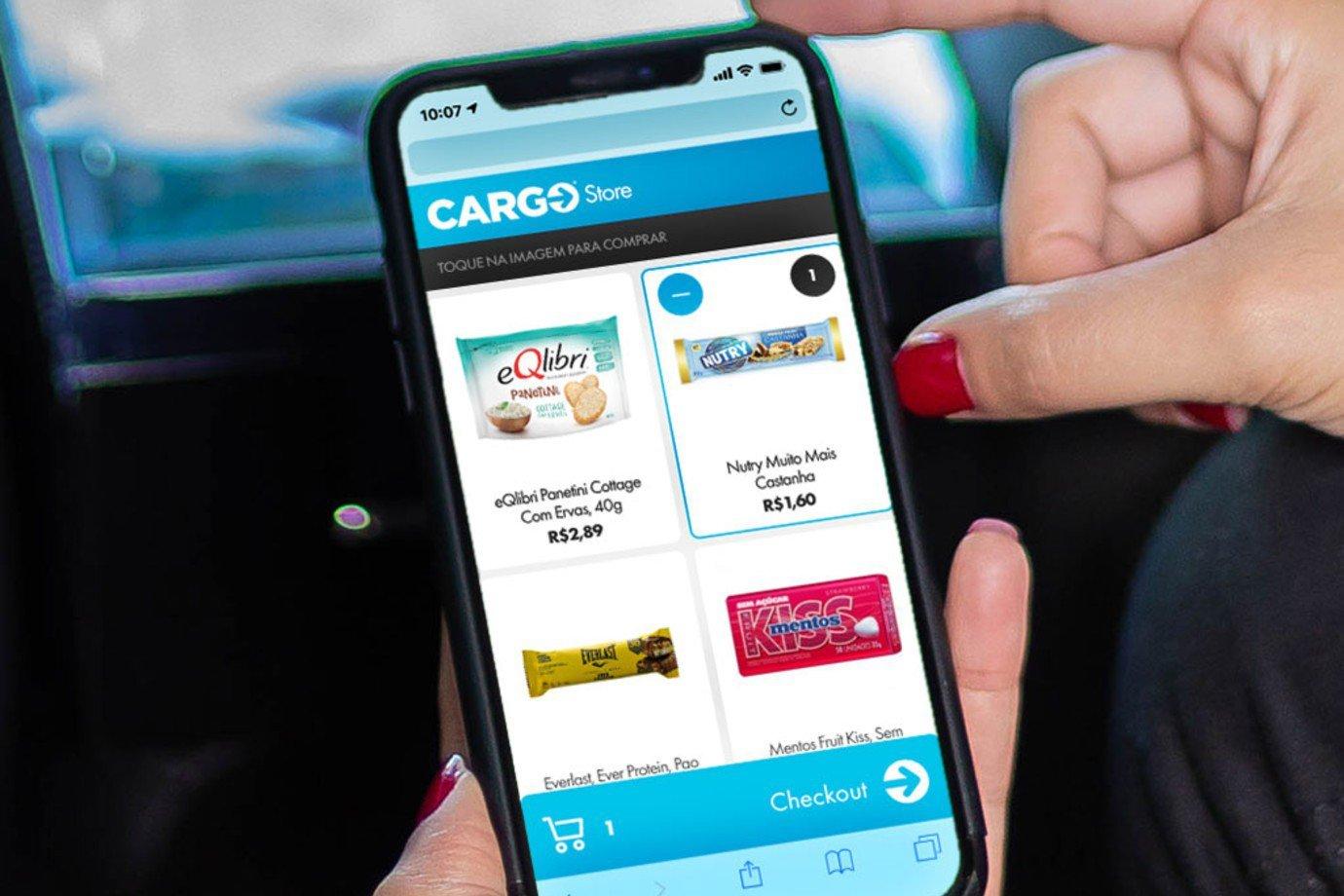 Site móvel da Cargo
