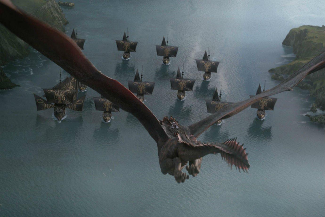 Cena do episódio 4 da temporada 8 de Game of Thrones
