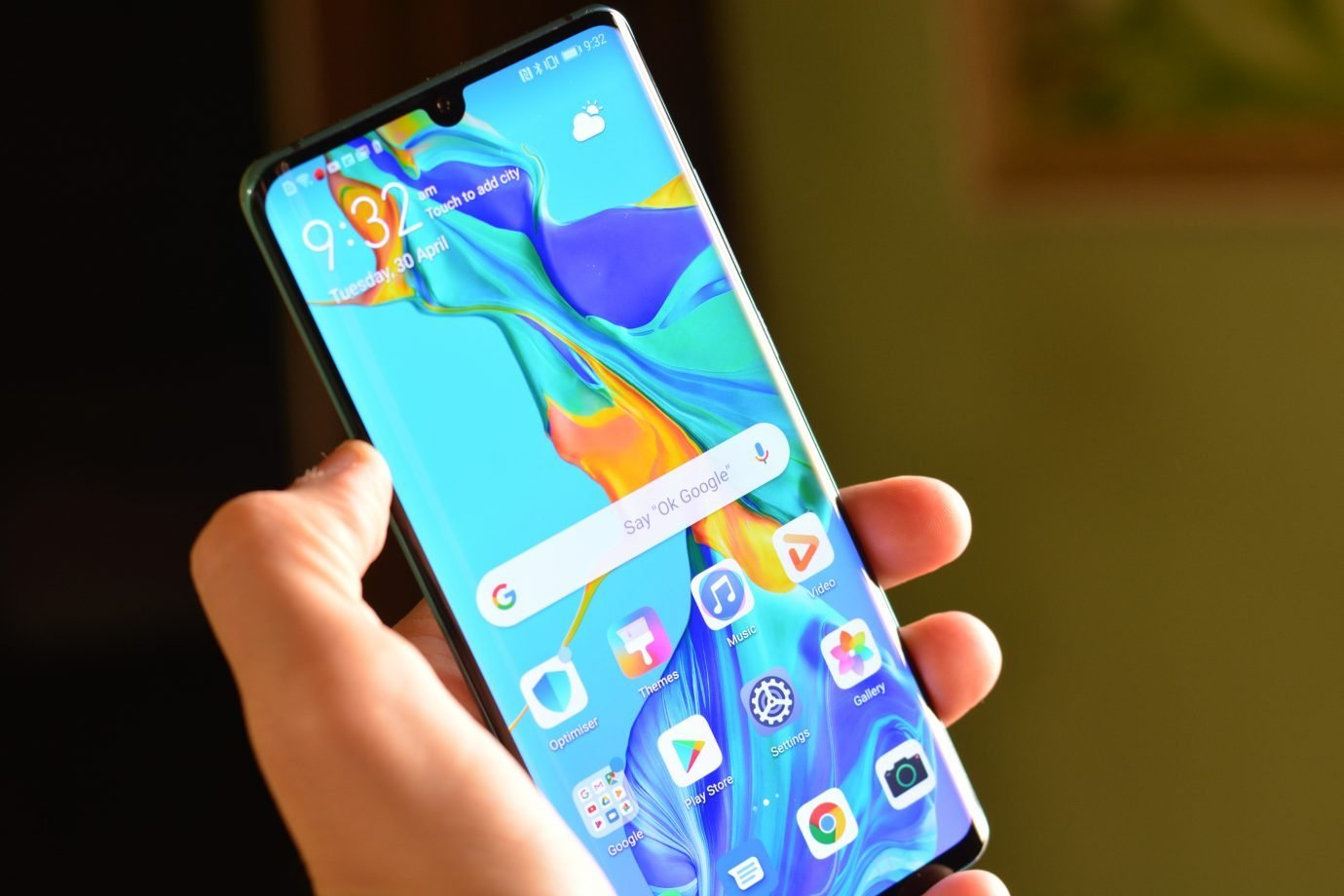 Smartphone Android Huawei P30 Pro Review