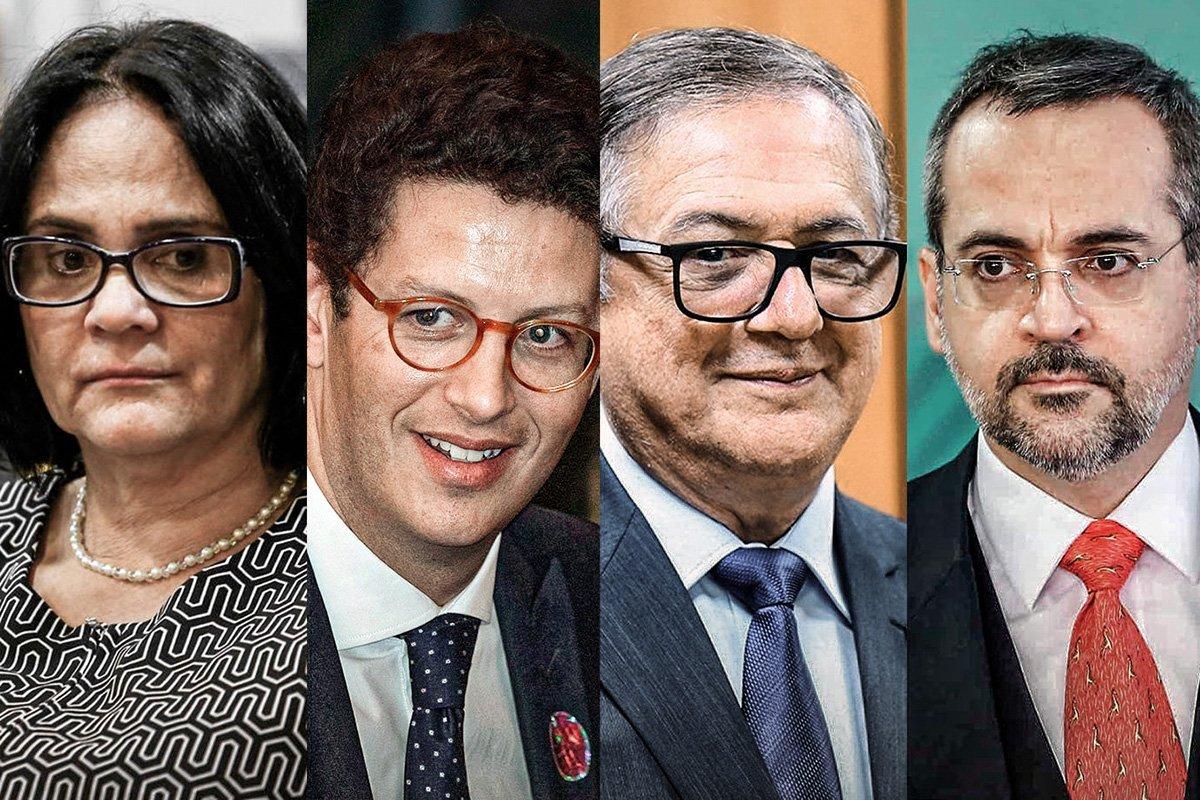 Ministros do governo Bolsonaro que mentiram no currículo