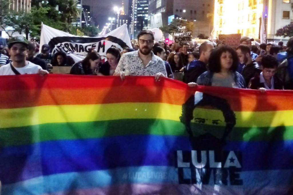 Protesto em São Paulo, no MAPS, contra cortes na educação