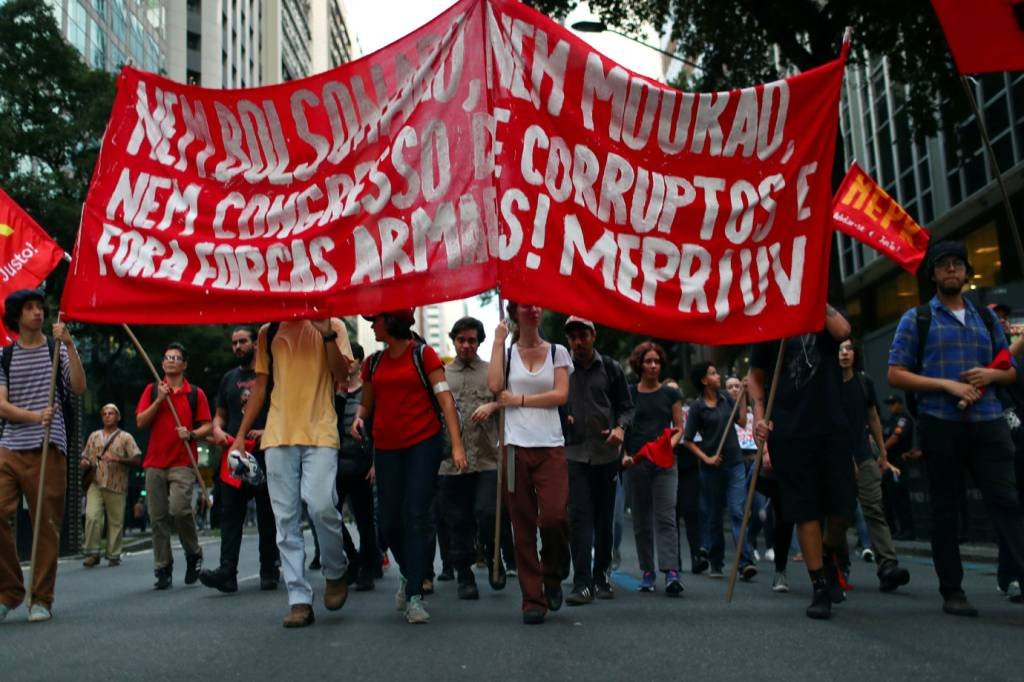 Rio de Janeiro: protesto contra cortes na Educação