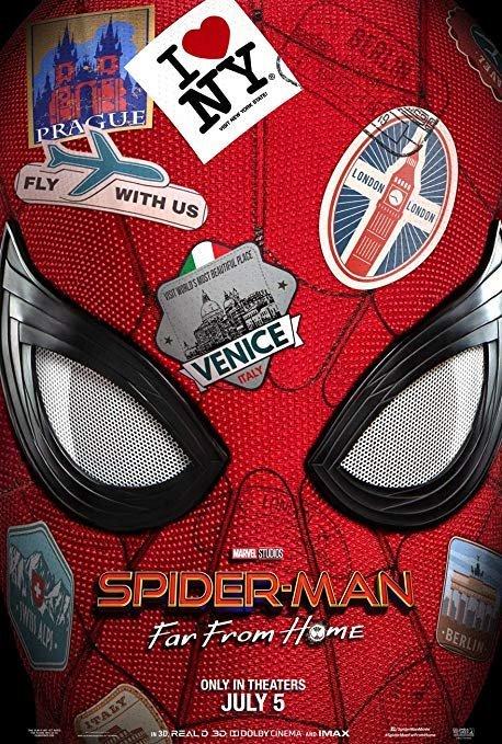 """Pôster do filme """"Homem-Aranha: Longe de Casa"""""""