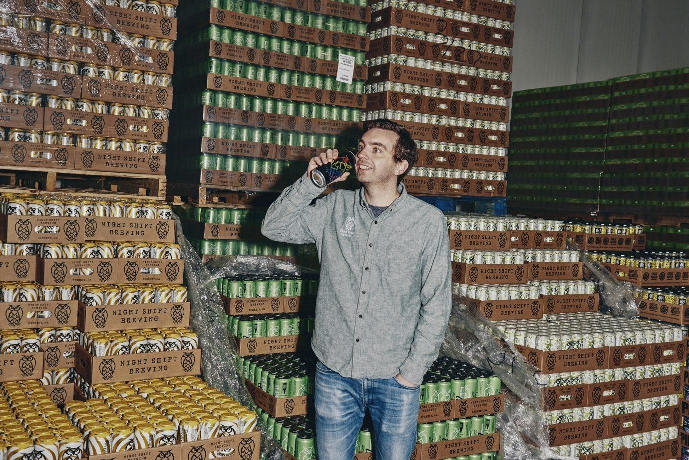 Rob Burns, cofundador da Night Shift Brewing