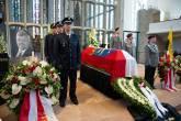 Enterro do politico Walter Luebcke