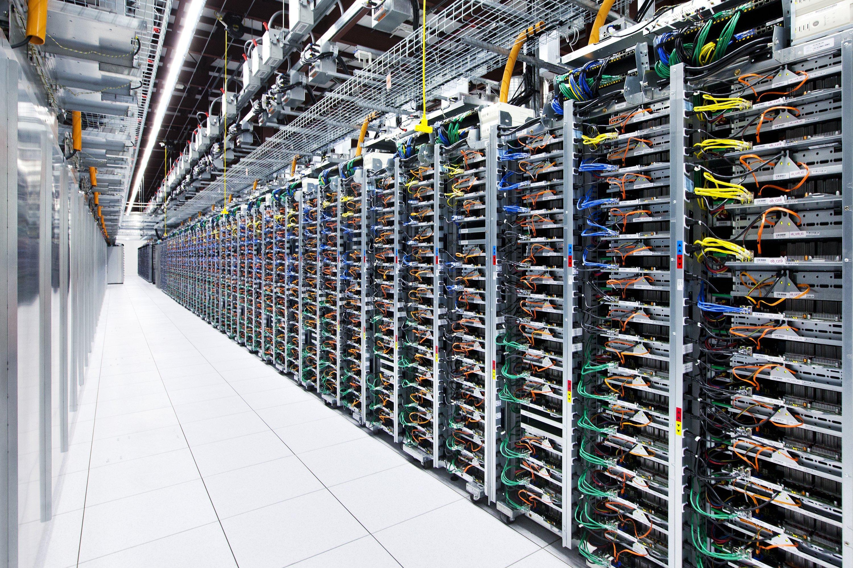 Servidores do Google Cloud