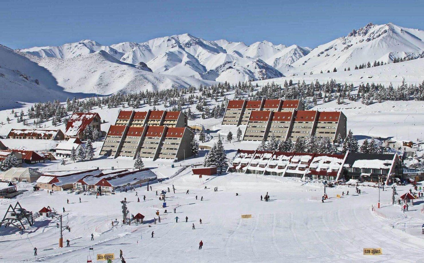 Estação de esqui de Cerro Chapelco, na Argentina